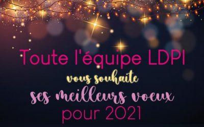 LDPI vous souhaite ses meilleurs voeux pour 2021