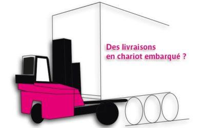 LDPI répond présent pour réaliser vos livraisons en chariot embarqué