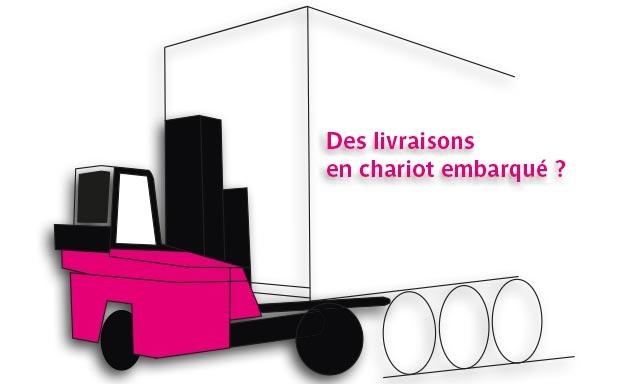 LDPI-Livraisons en chariot embarqué