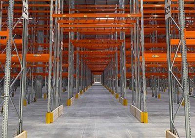 LDPI - Nouvel entrepôt rack
