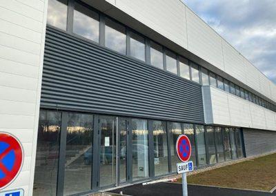LDPI - Nouvel entrepôt côté bureaux