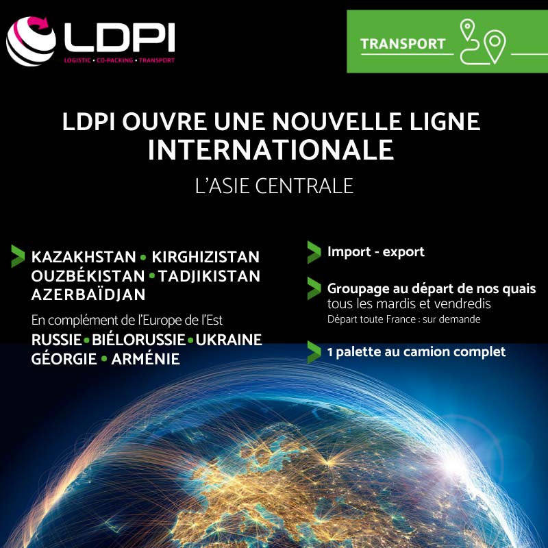 LDPI - Groupe international route Asie Centrale